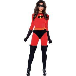 Disney Pixar Mrs. Incredible Costume Size Small